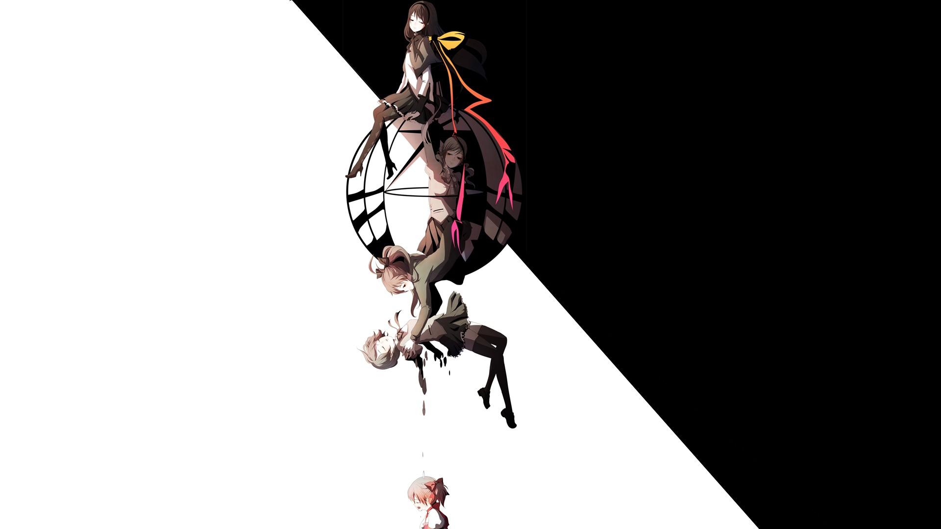 Madoka-Magica-Akemi-Homura-Mami-Tomoe-Sayaka-Miki-Kaname-Madoka-Sakura-Kyouko-wallpaper-wp36048-1