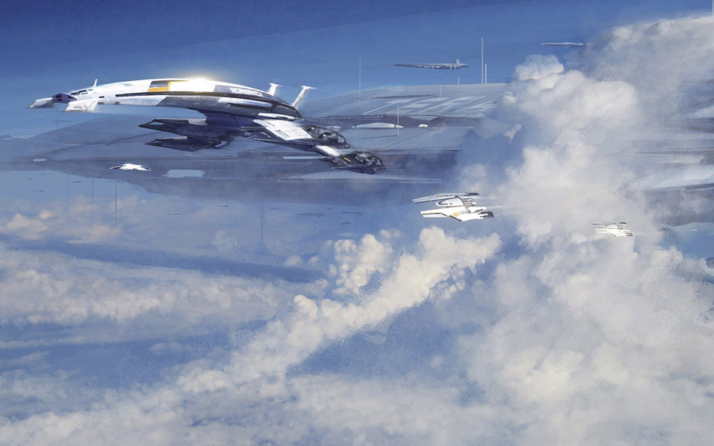 Mass-Effect-Art-Pictures-Normandy-in-Clouds-wallpaper-wpc5807030