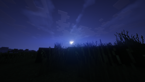 minecraft shader wallpaper