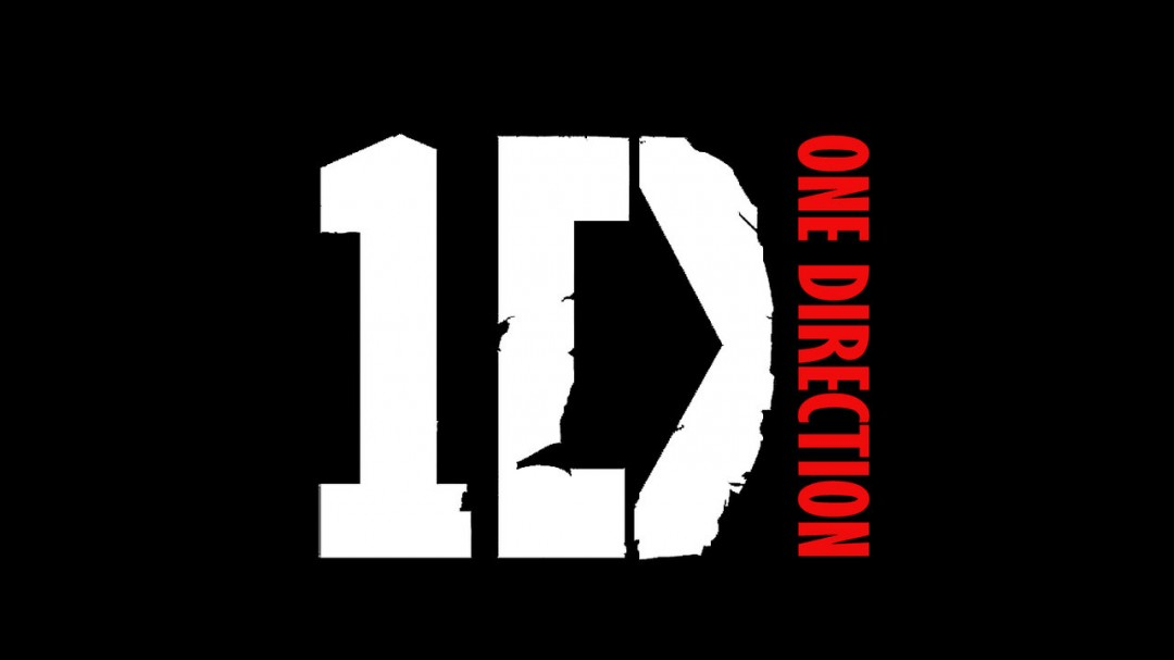 One direction logo blue