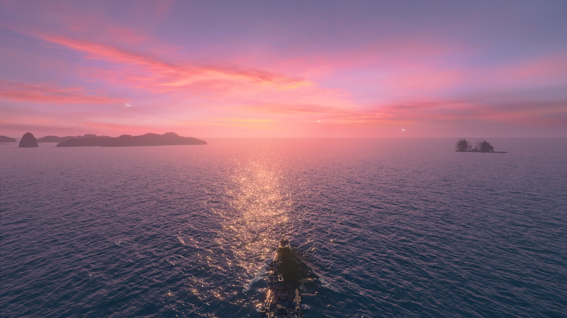 Pacific-Sunset-World-of-Warships-1920-x-1080-OC-wallpaper-wp3808993