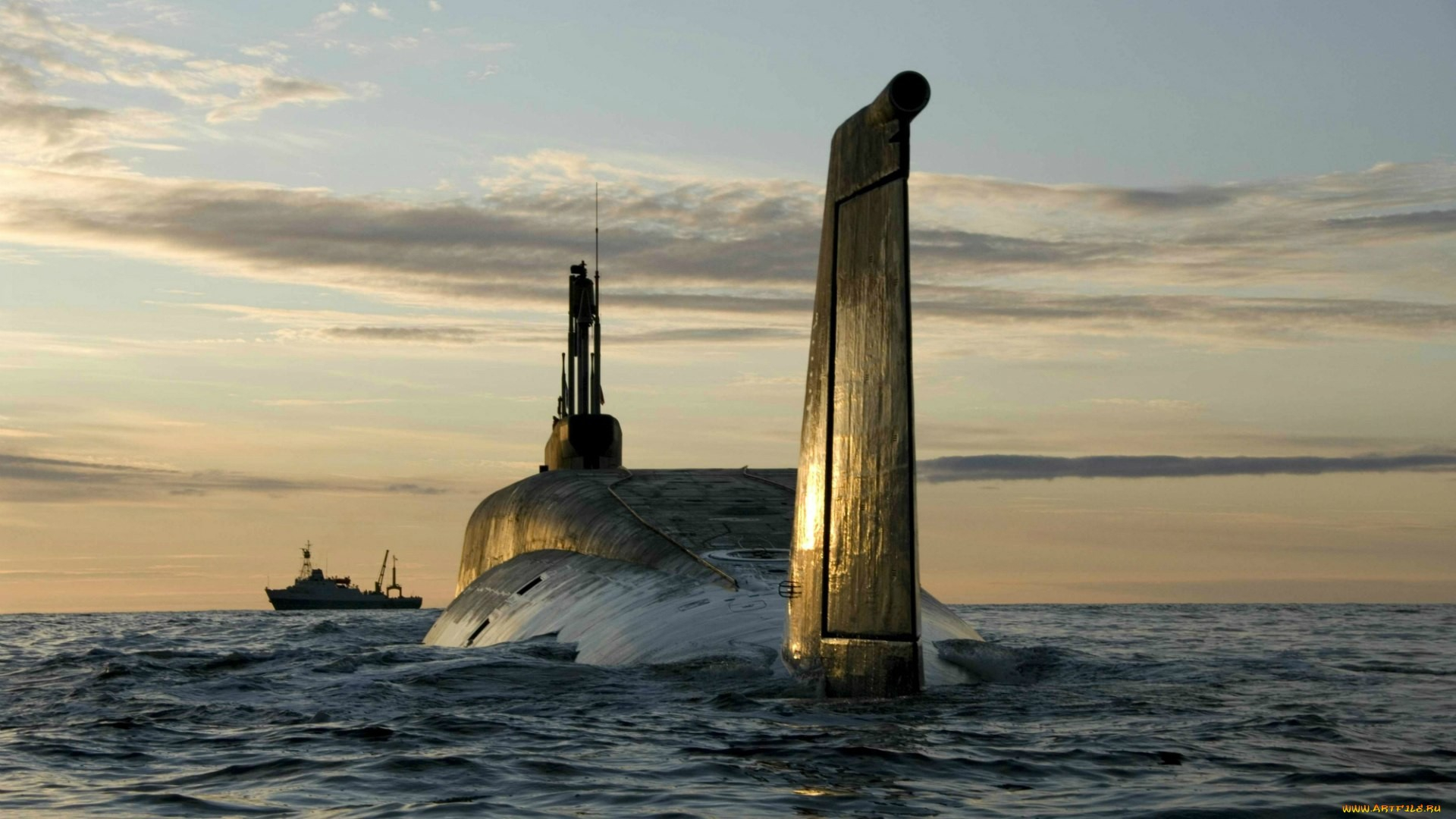 Russian-Borie-class-submarine-Yury-Dolgorukiy-K-surfaced-1920-x-1080-Need-iPhone-S-Plus-wallpaper-wp3809943