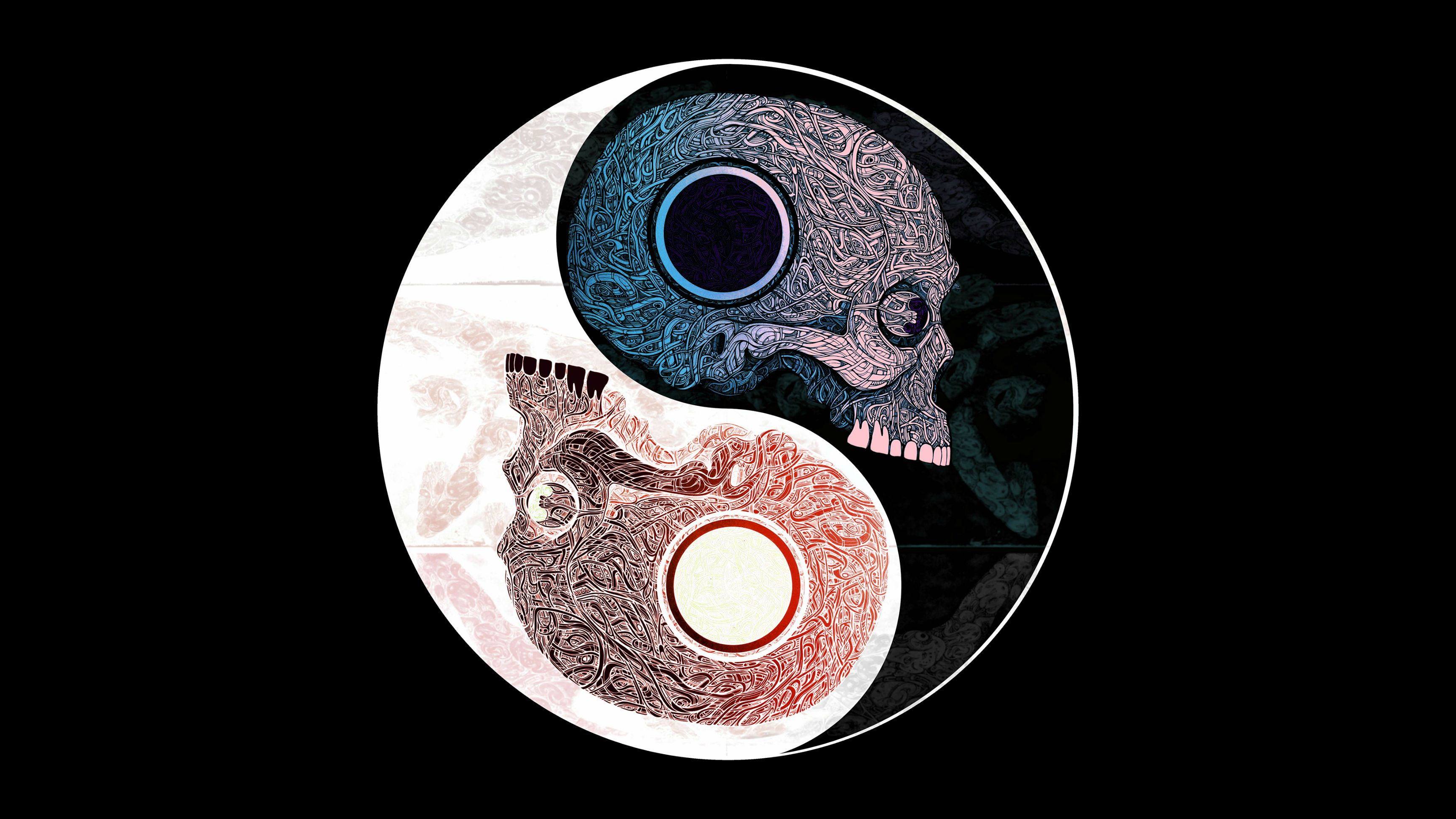 Skull-Yin-Yang-4k-x-Followme-CooliPhoneCase-on-Twitter-Facebook-Google-Instagram-wallpaper-wpc9009186