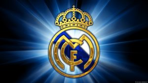 real madrid logo tapeter