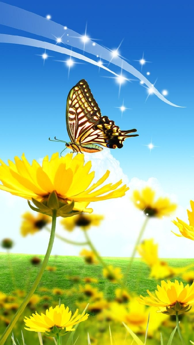 afdbedfccaba-galaxy-yellow-flowers-wallpaper-wp380993