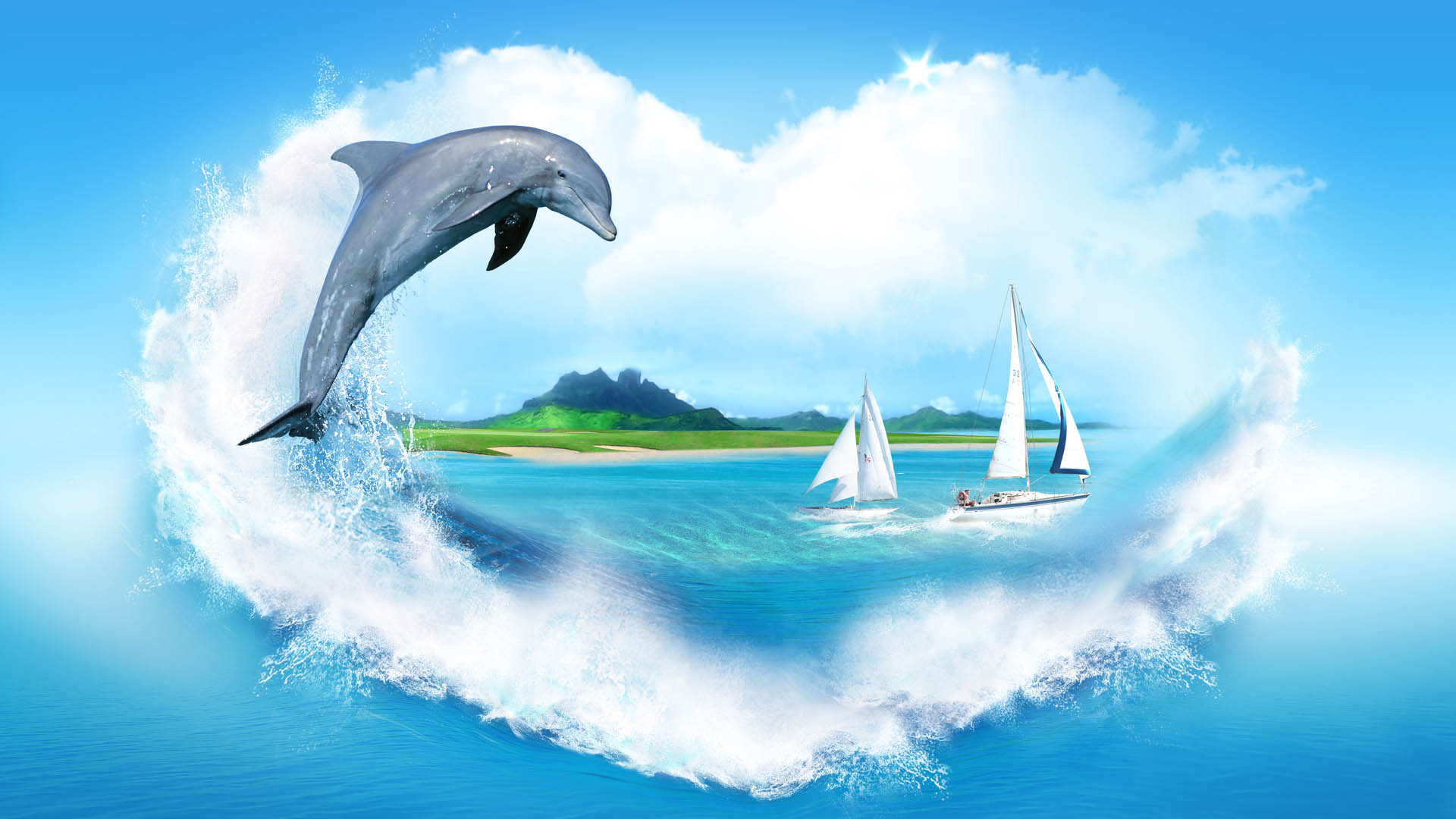 dolphin-Best-Background-Hd-1920x1080-wallpaper-wpc5804210
