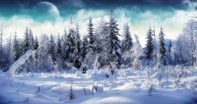 winter scenes wallpaper