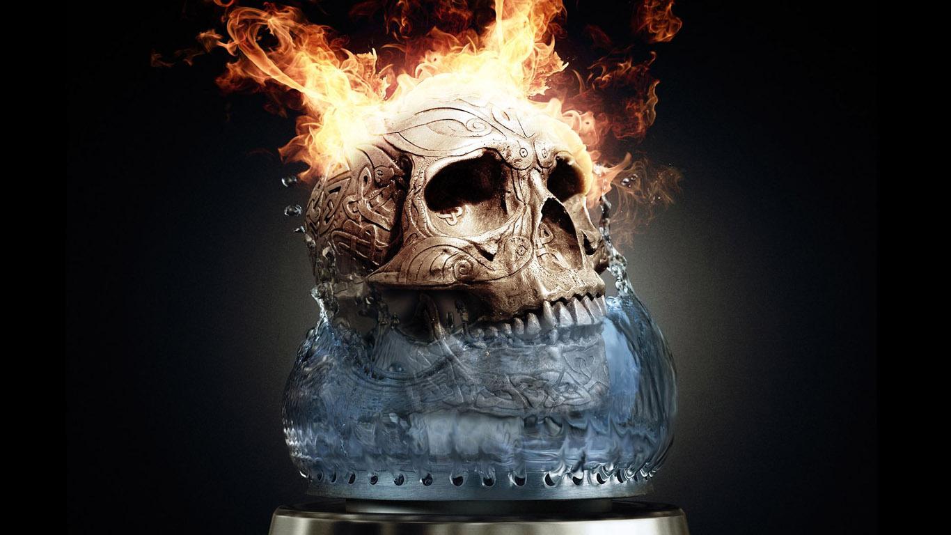 Downloadwallpaper Org: Skull Horror Wallpapers HD