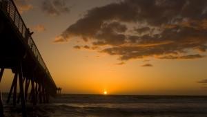 Sunset Beach Taustakuva HD