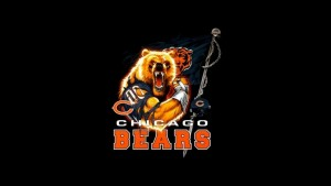 Chicago Bears tapet