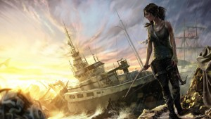 Tomb Raider tapet