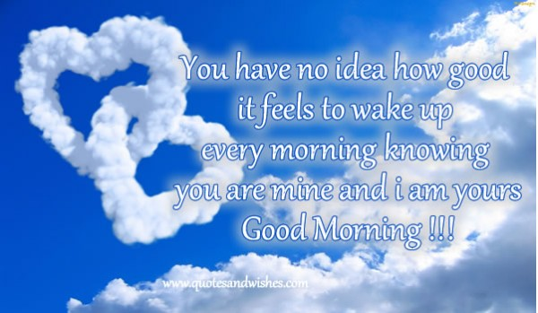 Inspirational Good Morning Love Quotes For Her And Him Yen: Citations D'amour Fond D'écran HD