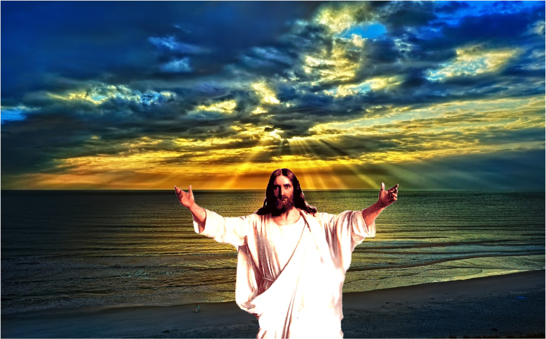 J sus christ fonds d 39 cran hd - Wallpaper de jesus ...