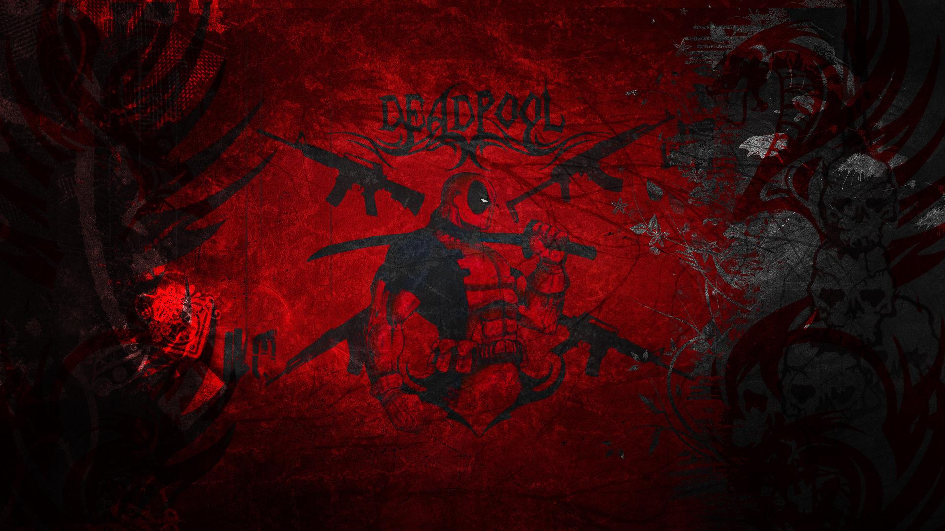 10 Best Badass Desktop Backgrounds 1920x1080 Full Hd 1080p: Deadpool Fond D'écran Hd HD