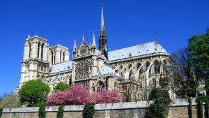Notre Dame Tapete HD