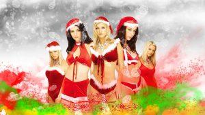 Weihnachtsmann-Tapete HD