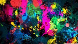 wallpaper colorful HD