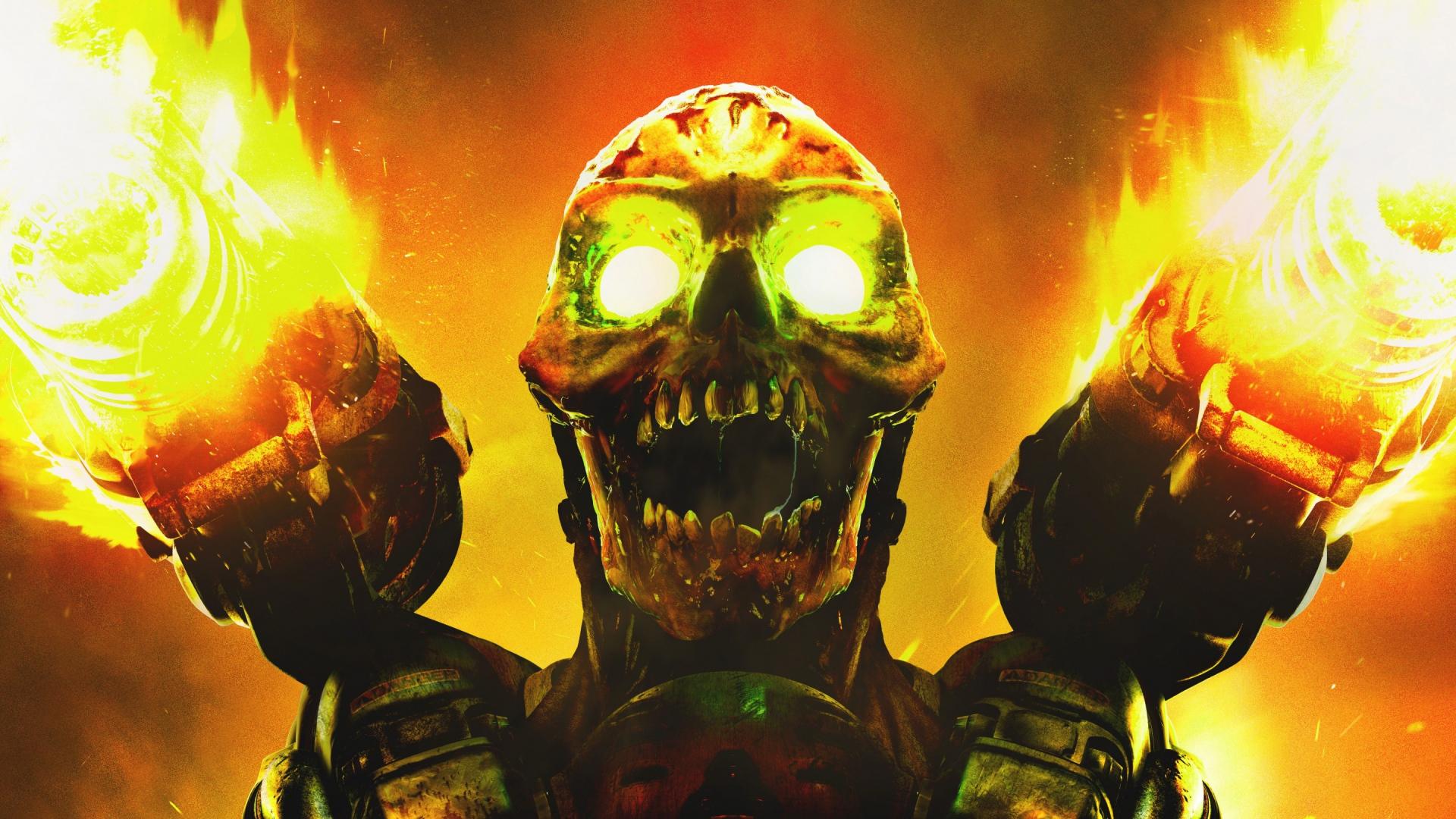 2048x1152 wallpaper free fire: Doom Fond D'écran HD