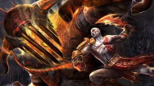 kratos wallpaper HD