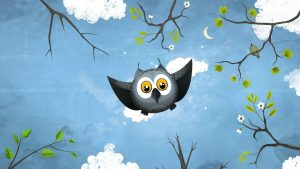 cartoon owl wallpaper HD