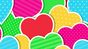 cute heart wallpapers