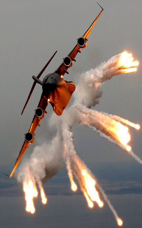 A-C-from-Charleston-Air-Force-Base-S-C-releases-flares-over-the-Atlantic-Ocean-U-S-wallpaper-wp5803194