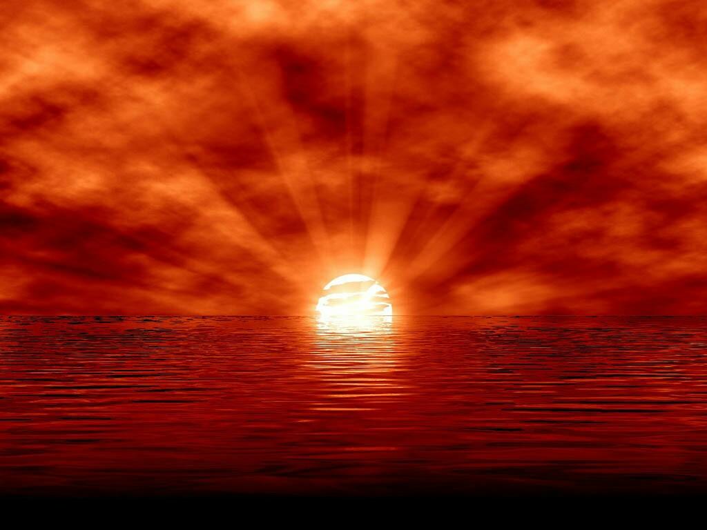 A-beautiful-clouded-orange-sea-sunset-wallpaper-wp3402056