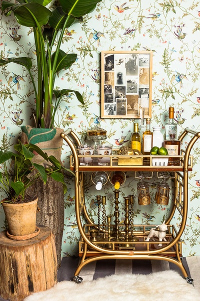 A-little-old-school-a-little-retro-br-bar-cart-candlesticks-gold-etched-gles-Humming-Bir-wallpaper-wp4404062