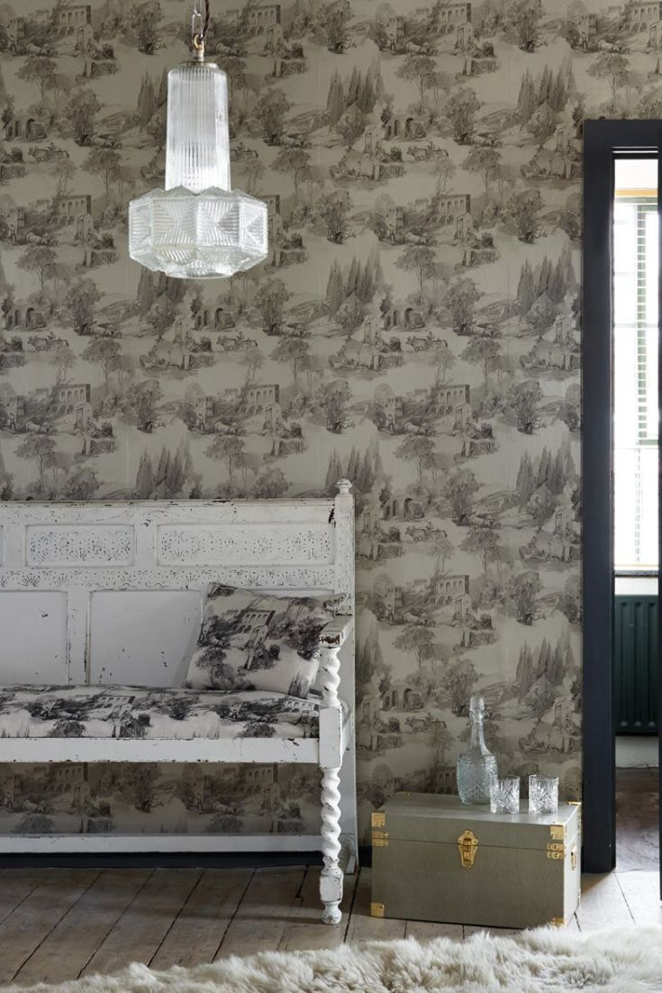 A-modern-take-on-the-classic-pastoral-toile-design-wallpaper-wp4603411