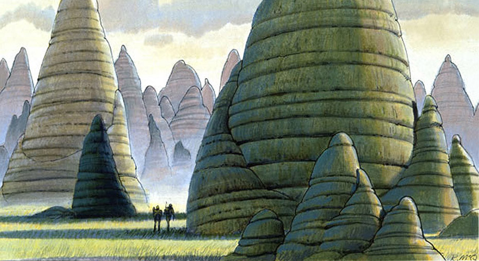ANH-This-Ralph-McQuarrie-concept-painting-depicts-the-Killik-Mounds-of-Alderaan-The-abandoned-pe-wallpaper-wp423652