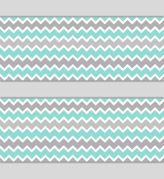 AQUA-GRAY-CHEVRON-Border-Decal-Wall-Art-Nursery-Decor-Blue-Mint-Green-Grey-Stickers-Room-B-wallpaper-wp5204174
