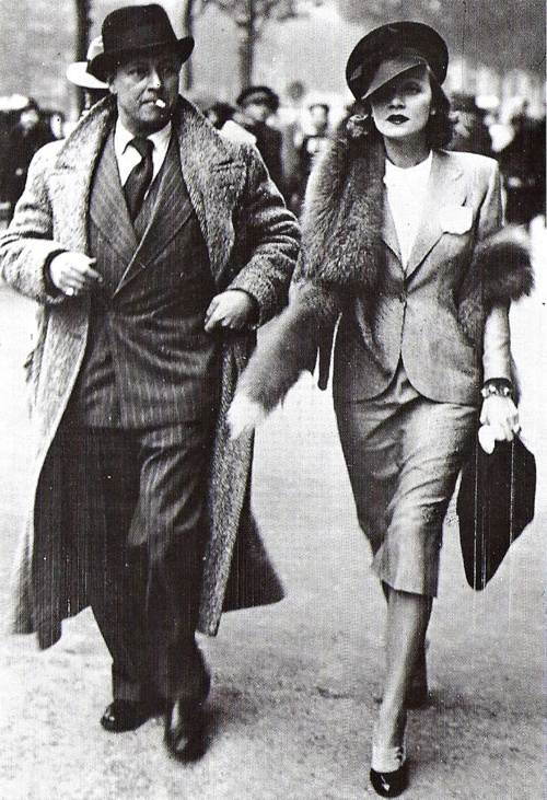 Actress-Marlene-Dietrich-with-husband-Rudy-Sieber-in-Paris-wallpaper-wp3002992