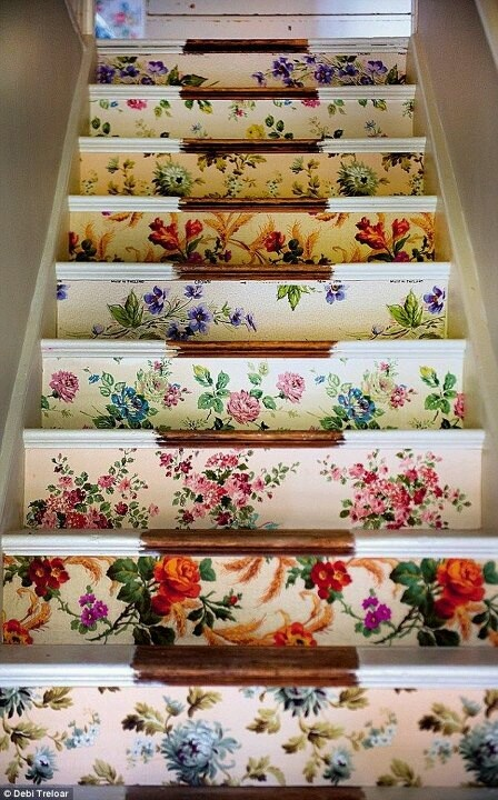 Adding-floral-print-to-your-stairway-creates-a-vintage-look-or-any-kind-of-for-wallpaper-wp5403056
