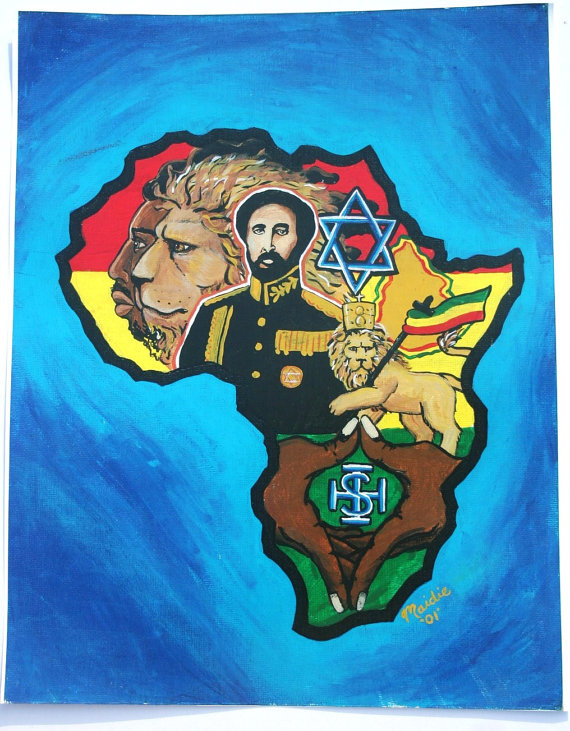 Africa-Painting-Ethiopian-Emperor-Haile-Selassie-by-IliveloveJAH-wallpaper-wp4603528