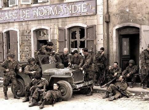 After-taking-Carentan-Normandy-wallpaper-wp3003036