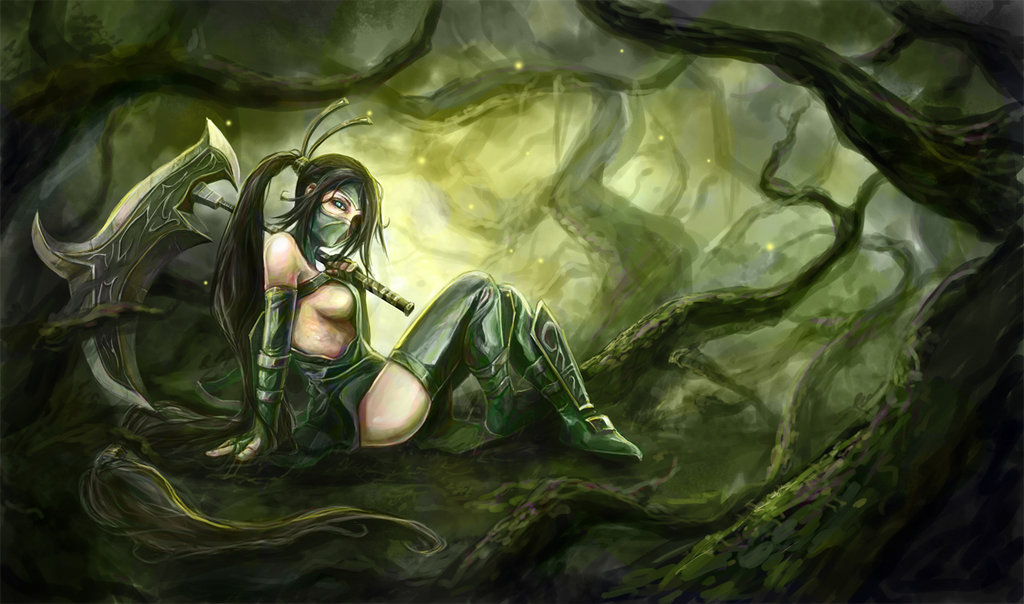 Akali-by-sbalac-deviantart-com-on-deviantART-wallpaper-wp4603541-1