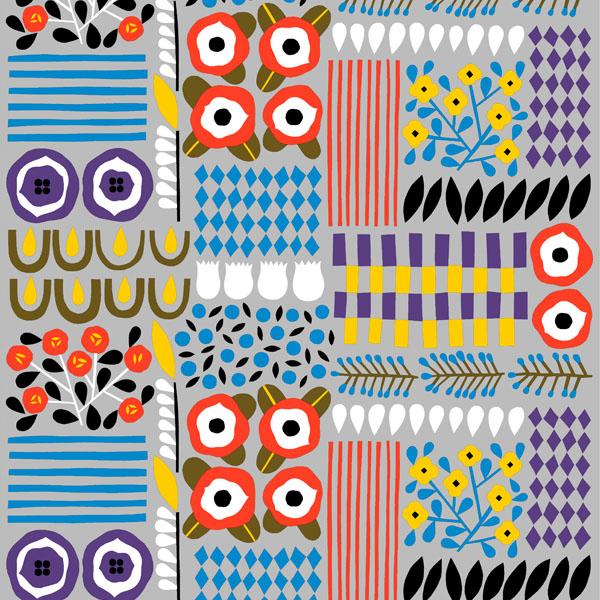 Akankaali-fabric-by-Marimekko-Design-by-Aino-Maija-Metsola-wallpaper-wp423542-1