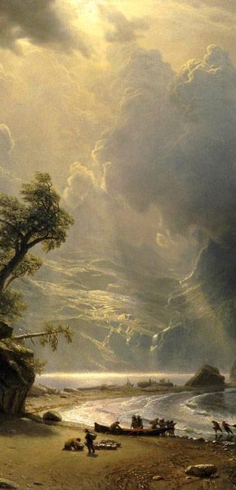 Albert-Bierstadt-Painting-Art-Puged-Sound-Of-The-Pacific-Coast-free-computer-desktop-hd-wallpaper-wp5403132