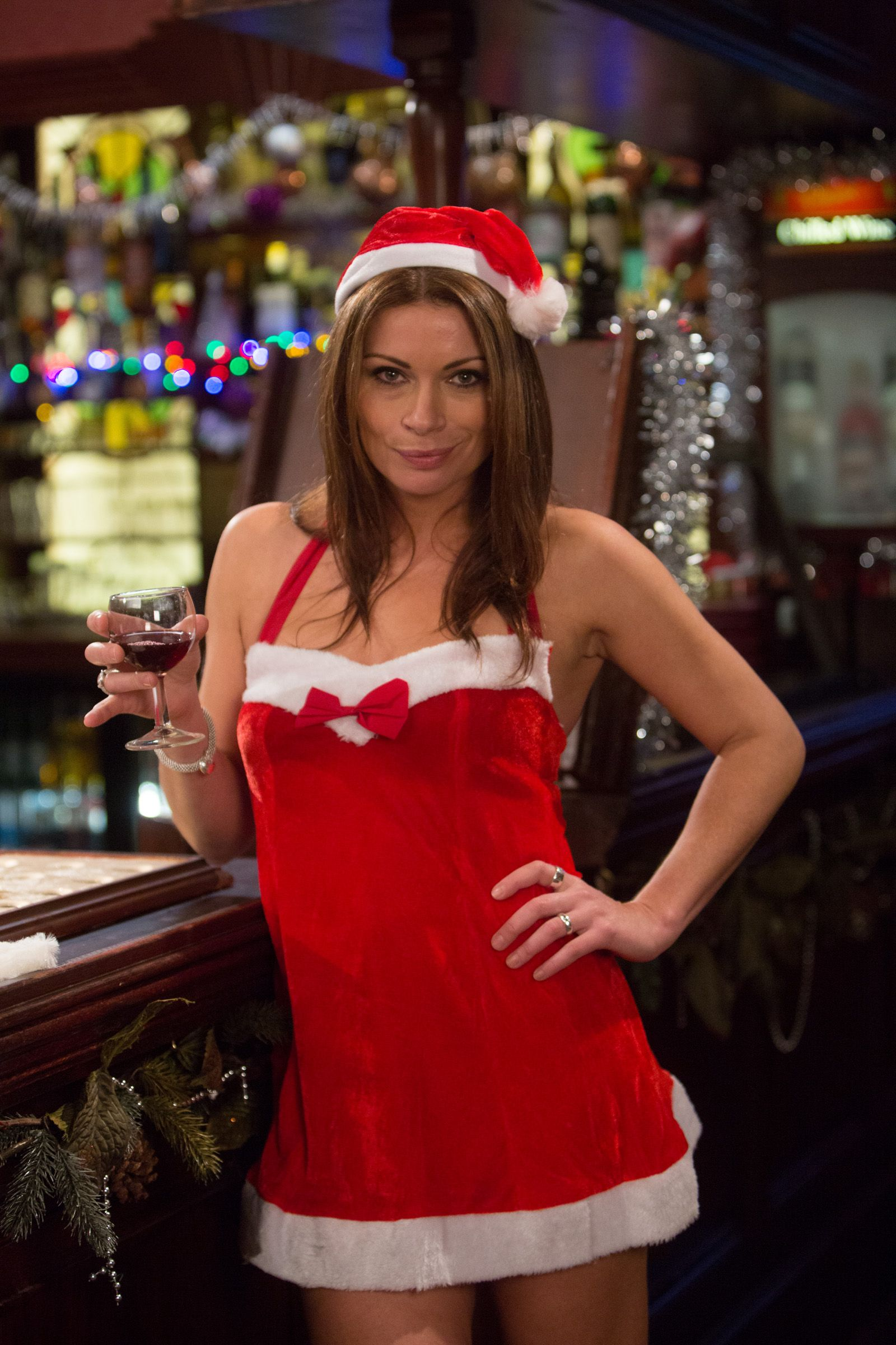 Alison-King-Text-Santa-su-wallpaper-wp5803365