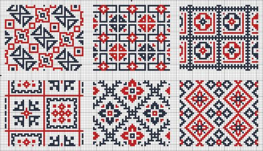 All-Over-designs-chart-for-cross-stitch-or-knitting-wallpaper-wp5203987