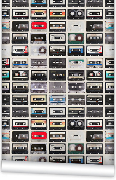 Alternative-Mixed-Tapes-Boutique-Faux-design-by-Milton-King-wallpaper-wp4603582
