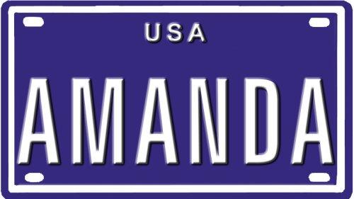 Amanda-USA-mini-metal-embossed-license-plate-name-for-bikes-tricycles-wagons-kids-doors-golf-car-wallpaper-wp4804083