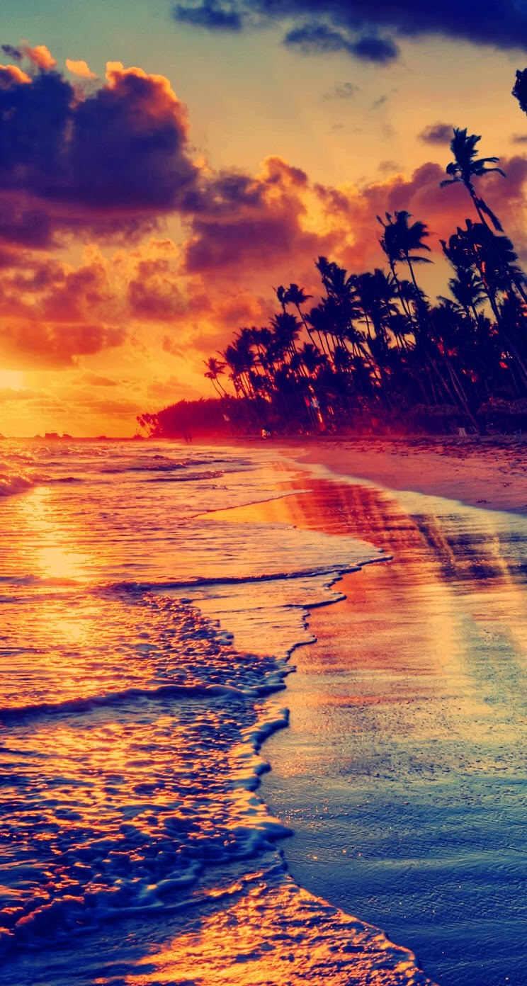 Amazing-beach-Awesome-iPhone-Colorful-Nature-Scenery-View-Check-out-more-and-wallpaper-wp423586-1