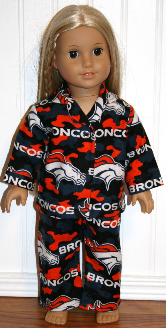 American-Girl-Doll-Clothes-DENVER-BRONCOS-flannel-pajamas-Made-In-America-via-Etsy-wallpaper-wp5602853