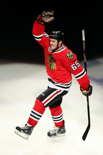 Andrew-Shaw-of-the-Chicago-Blackhawks-celebrates-after-he-was-named-a-sta-wallpaper-wp5803457