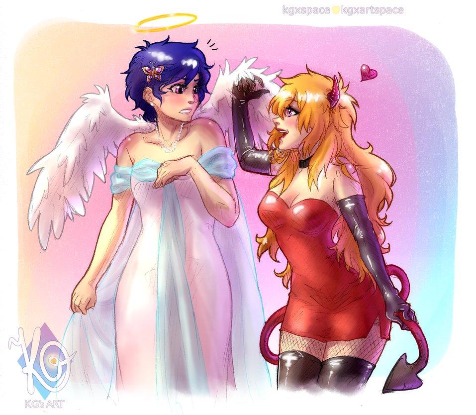 Angel-and-Devil-Reigisa-by-KGxspace-sígueme-en-pinterest-wallpaper-wp423643