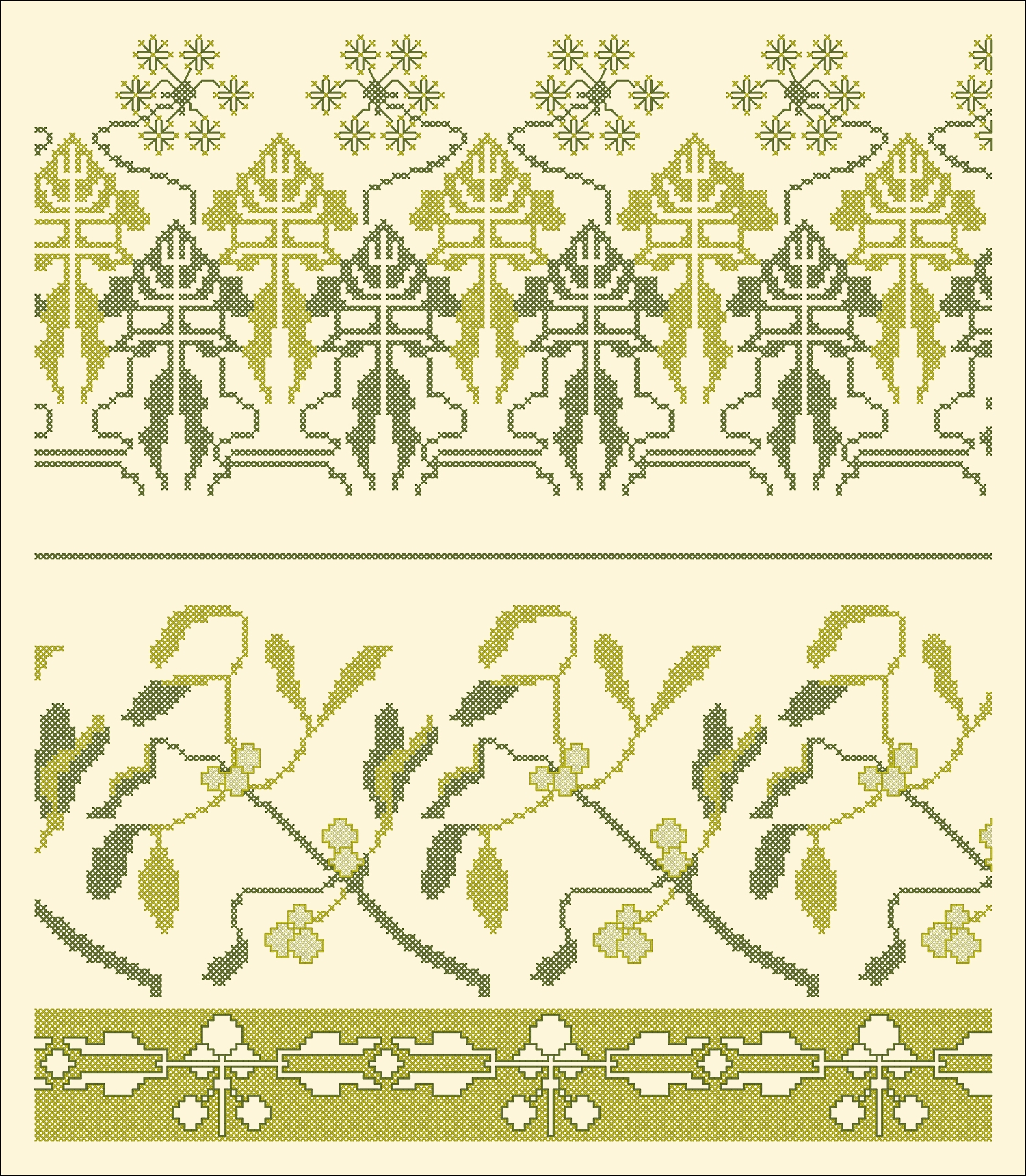 Angelica-and-mistletoe-Charts-for-cross-stitch-borders-wallpaper-wp5204060