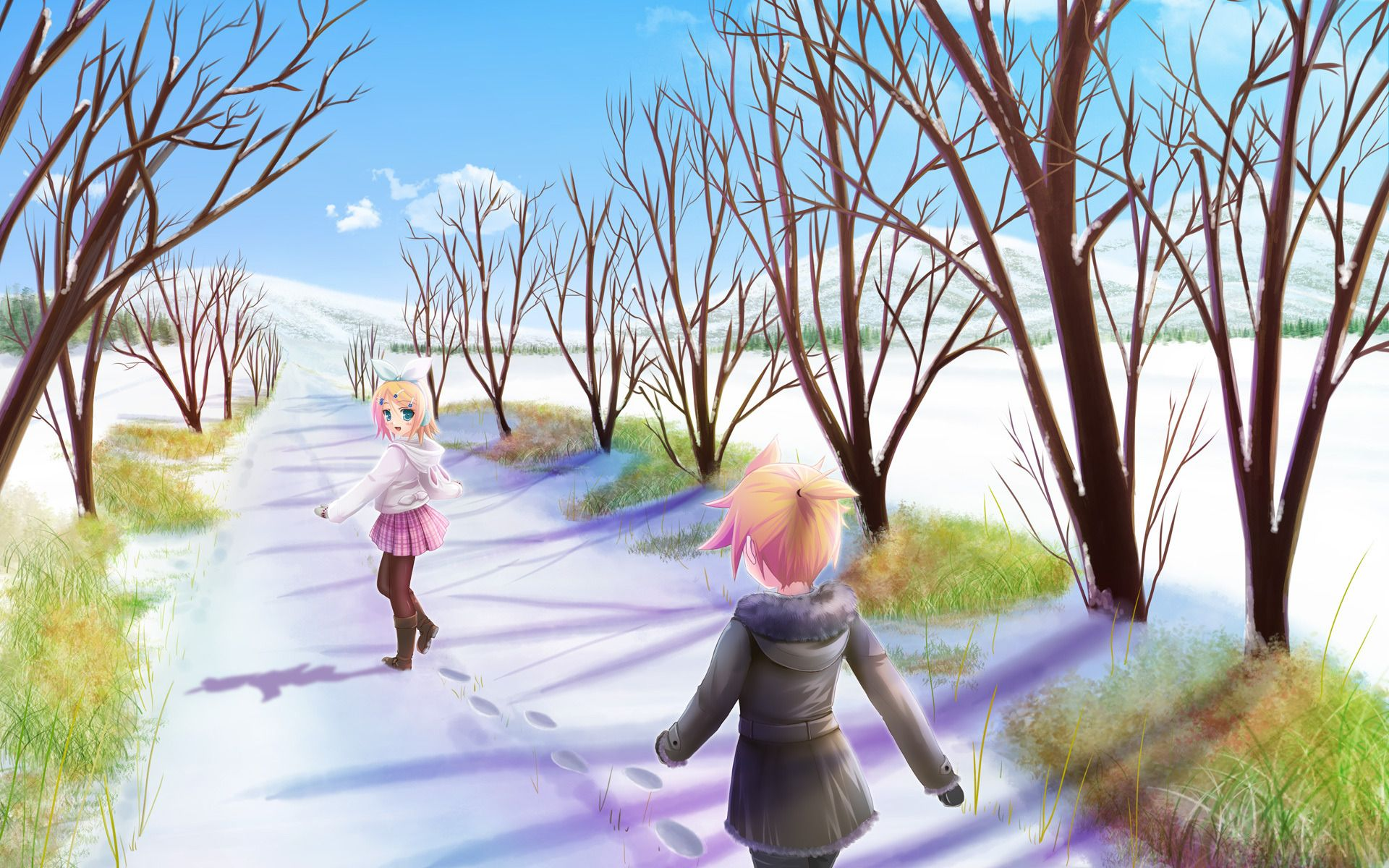 Anime-Winter-Rin-Flax-Vokaloid-Snow-Alley-Mood-jpg-×-wallpaper-wp5803513