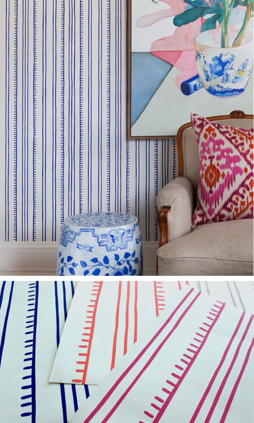Anna-Spiro-in-a-graphic-pattern-called-Higgedly-Piggedly-Stripe-wallpaper-wp5004645