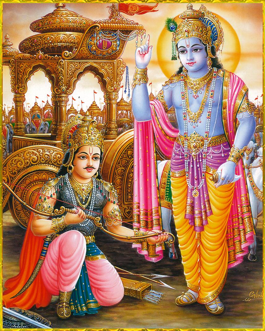 Arhun-garu-sri-krihna-sri-mad-bhgvad-gita-wallpaper-wp5803612